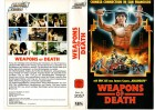 WEAPONS OF DEATH - Eric Lee - GLORIA gr.Cover - VHS