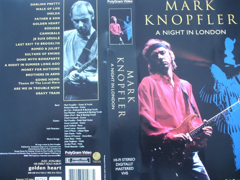 Mark Knopfler - A Night In London ...  Engl. Version !!