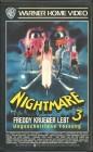 Nightmare 3 - Freddy Krueger lebt (VHS) UNCUT