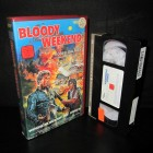 Bloody Weekend * VHS * Lightning Video