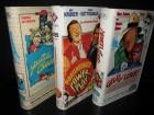 3 x VHS * Komödie * Mike Krüger, Thomas Gottschalk
