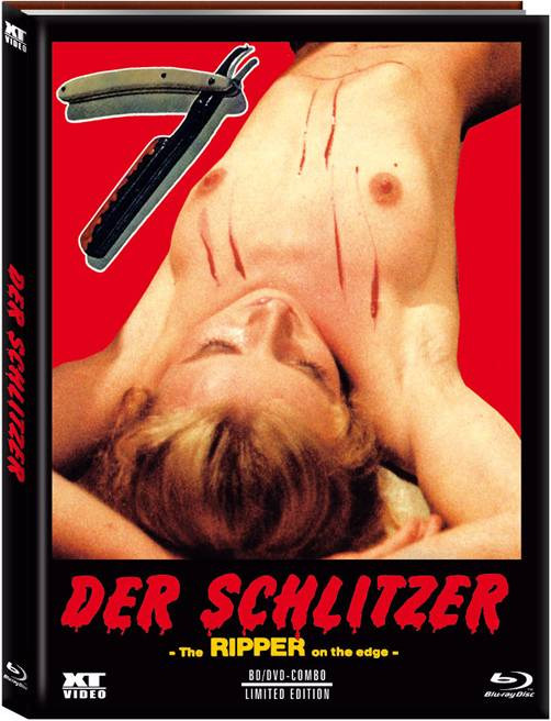 Der Schlitzer - Mediabook A - XT - NEU/OVP