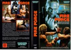 FIRE FORCE - Gary Daniels - VMP gr.Cover - VHS