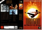 DRAGON - DIE BRUCE LEE STORY - UNIVERSAL gr.Cover -VHS