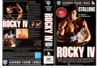 ROCKY IV - S.Stallone - WARNER HOME gr.Cover - VHS