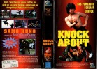 KNOCK ABOUT - Samo Hung - EAGLE PICTURE  gr.Cover - VHS