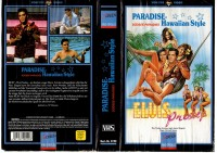 PARDISE HAWAIIAN STYLE-Elvis Presley-Screen VPS gr.Cover-VHS