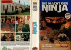 DIE MACHT DER NINJA - highlight gr.Hartbox - VHS