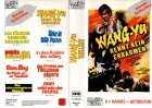 WANG-YU - KENNT KEIN ERBARMEN - Pacific gr.Cover - VHS