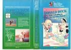 DONALD DUCK ,Drei Caballeros - Walt Disney gr.Cover- VHS