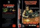 RAMBO 2 - Cover auf BOX Bedruckt gr.Cover - VHS