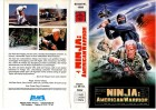NINJA - AMERICAN WARRIOR - ATLANTA gr.Cover - VHS