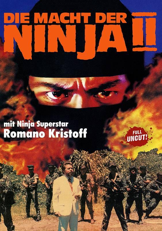 DIE MACHT DER NINJA 2 - DVD Amaray uncut - Neu/OVP