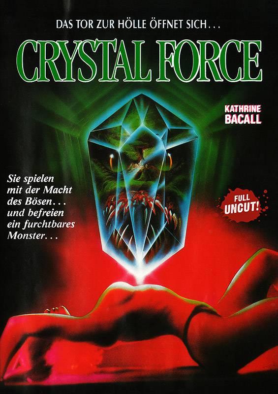 CRYSTAL FORCE - DVD Amaray uncut - Neu/OVP