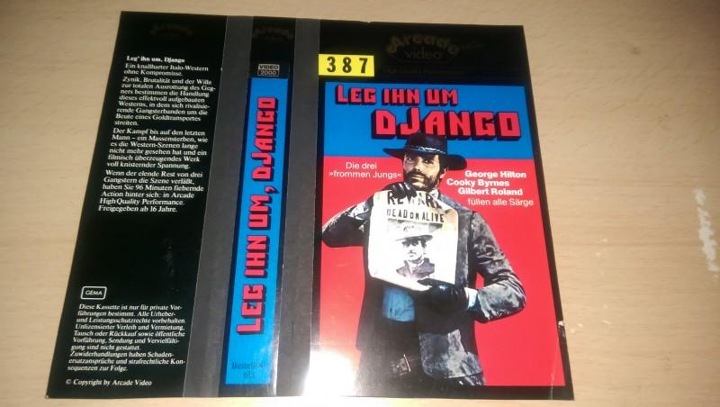 xxx LEG IHN UM DJANGO / NUR ORIGINAL COVER xxx
