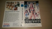 ---  DAS KOMMANDO DER FRAUEN / NUR ORIGINAL COVER ---