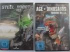 Steel Robot 1, 2, 3, 4 + Age of Dinosaurs - Sci- F. Sammlung