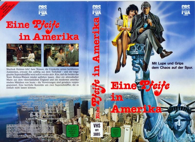 Eine PFEIFE in Amerika(The Return of Sherlock Holmes )*1987*
