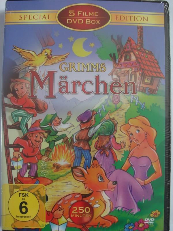 Grimms Märchen 5 Filme Sammlung - Hänsel Gretel Aschenputtet