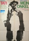 Altes Filmposter MEIN ONKEL Jacques Tati 1958/1978 Mr. Hulot