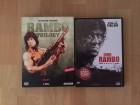 RAMBO 1 - 4 auf insgesamt  4 DVDs komplett uncut