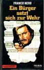 (VHS)  Ein Bürger setzt sich zur Wehr - Franco Nero (1974)