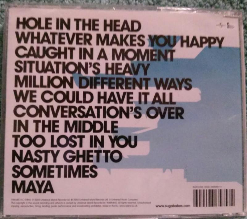 Sugababes Three Musik CD