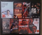 7 DVDs: Sonatine; Violent Cop; Boiling Point; Run and Kill..