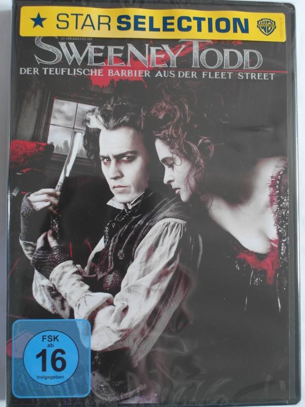 Sweeney Todd - teuflische Barbier Johnny Depp, Alan Rickman