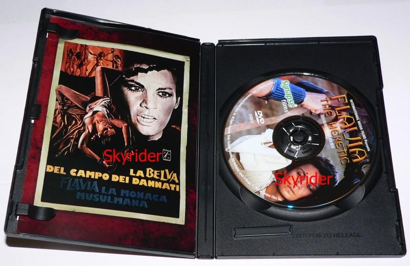 Flavia the Heretic DVD - RC 1 - kein deutscher Ton -