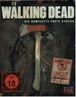 THE WALKING DEAD - UNCUT STEELBOOK - STAFFEL 1 - OVP