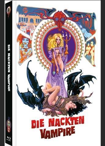 NACKTEN VAMPIRE, DIE Mediabook Cover A