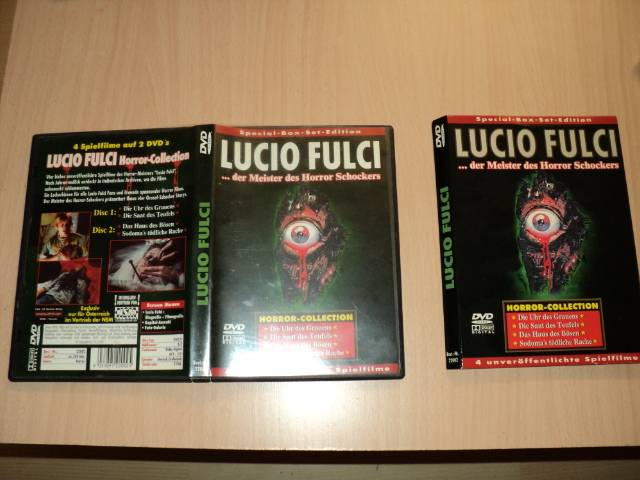 LUCIO FULCI BOX - Österreich-Import/NSM - UNCUT-EXTREM RAR