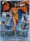 Seemann pass auf - Jerry Lewis + Dean Martin  -  DVD