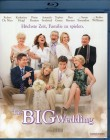 THE BIG WEDDING Blu-ray - Robert De Niro Robin Williams