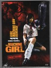 THE MACHINE GIRL Bluray UNCUT Mediabook  Dragon NEU & OVP