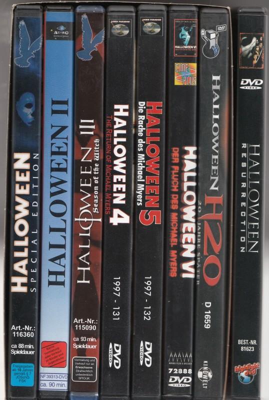 Halloween 1-8