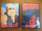 Bad Taste und Braindead (Peter Jackson) uncut DVD (Laser P.)