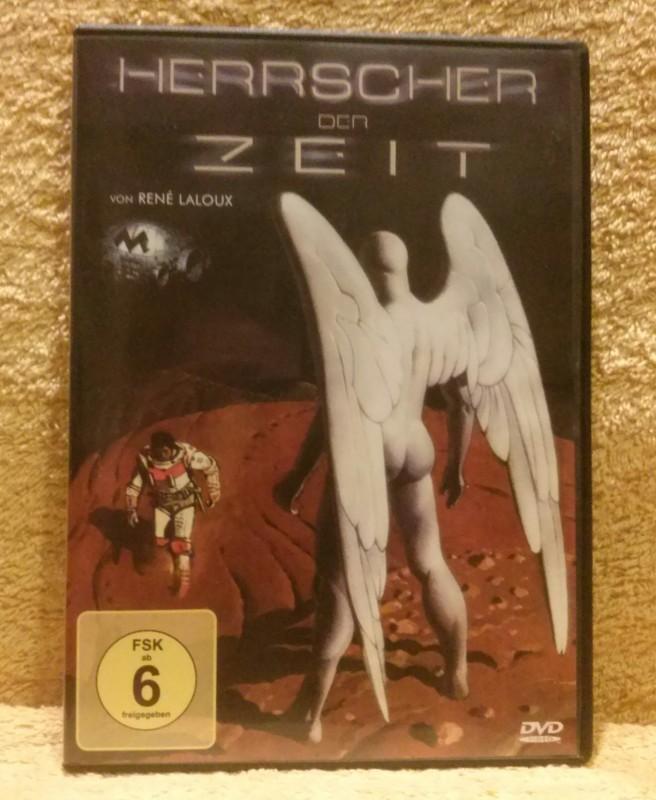 Herrscher der Zeit René Laloux Dvd Uncut (D) selten!