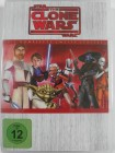 Star Wars The Clone Wars - Komplette 2. Staffel 4 Discs