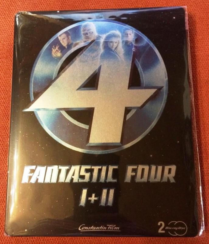 Fantastic Four I + II Steelbook !!! RAR !!!
