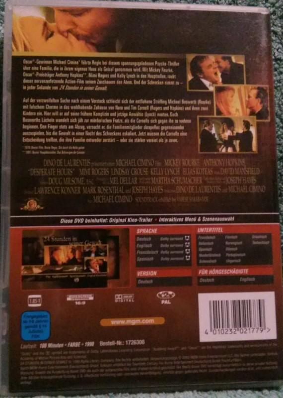 24 Stunden in seiner Gewalt DVD uncut (M)