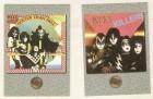 Kiss 2 Trading Karten von 1997 Top Zustand.
