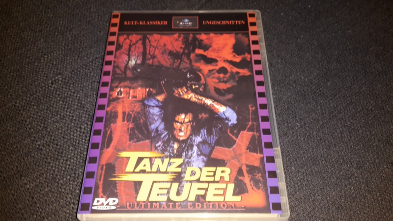 DVD TANZ DER TEUFEL (EVIL DEAD) uncut