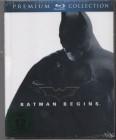 Batman Begins ( Blu-ray ) Mediabook ( NEU )