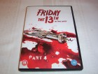 Friday the 13. The Final Chapter  Part 4  englische DVD