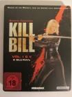 KILL BILL 1 & 2 Blu ray STEELBOOK - SCHWARZER ANZUG