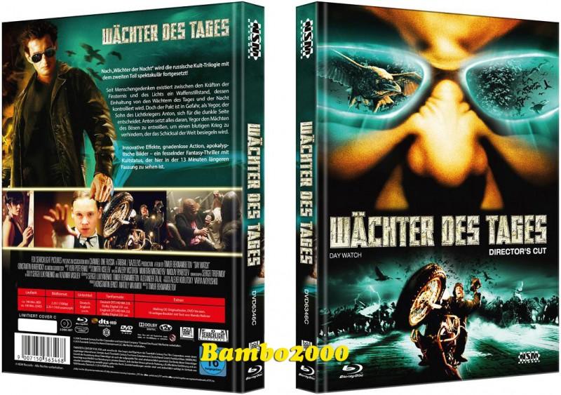 *WÄCHTER DES TAGES *UNCUT* C *DVD+BLU-RAY MEDIABOOK* OVP