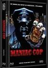 MANIAC COP (2DVD+Blu-Ray) (3Discs) - Cover A - Mediabook