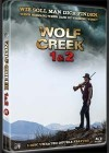 WOLF CREEK 1& 2 (Blu-Ray) - Metalpak - Uncut - Scary Metal